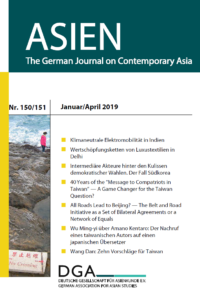 ASIEN 150/151 (Januar/April 2019) (published December 2019)